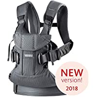BABYBJÖRN Baby Carrier One Air, 3D Mesh, Anthracite, 2018 Edition - ukpricecomparsion.eu
