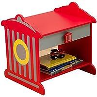 Preisvergleich für KidKraft 76024 Feuerhydrant Beistelltisch und Nachttisch mit Schublade aus Holz für Kinder - Kinderzimmer Möbel