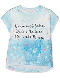 Uttam Boutique Girl's Galaxy Slogan T-Shirt