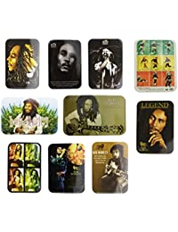 Bob Marley Sticker x 10