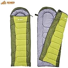 Semoo - Schlafsack - Deckenschlafsack - 3-Jahreszeiten-Schlafsack - 200 x 70 cm - 2 Farben zur Auswahl