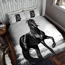 housse couette chevaux. Black Bedroom Furniture Sets. Home Design Ideas