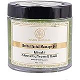 Khadi Natural Aloevera, Neem And Basil Face Massage Gel, 100g