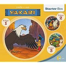 """Yakari - """"Starter-Box 1"""" - Folge 1 bis 3, Die Original-Hörspiele zur TV-Serie"""