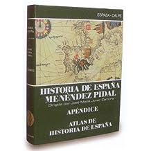 Atlas de historia de España (hª deespaña, apendice) (Menéndez pidal)o.c. 2910012655038