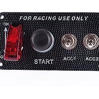 K-NVFA 12v motor de un coche de carreras de partida del empuje interruptor de
