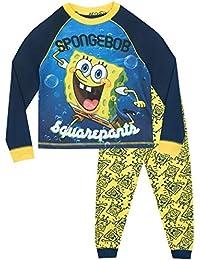 Bob Esponja Pijamas de Manga Larga para niños Spongebob Squarepants