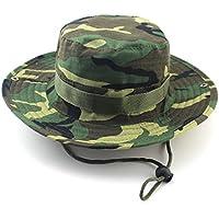 Unimango Outdoors-Nastro a tesa larga da pesca, cappellini sole con