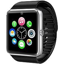 High tech GT08 Reloj bluetooth inteligente teléfono-reloj para Android IOS Teléfono Samsung iPhone con cámara