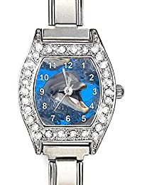 Delfin Italian Charms reloj para mujer
