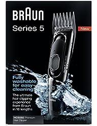 Braun Haarschneider HC5050 Haarschneidemaschine (Langhaarschneider, einsetzbar als Trimmer) schwarz