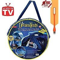 Tente de Lit Enfant Dream Tents - Tente de Rêve Tente Playhouse de Tente Apparaitre Intérieure Enfant Jouer Tentes Cadeaux de Noël pour Garcon Fille