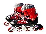 TABU TOYS WORLD High Performance Inline Skates with PU Flashing Wheel Aluminum Body