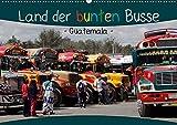 """Land der bunten Busse - Guatemala (Wandkalender 2020 DIN A2 quer): """"Camionetas"""" - landestypische guatemaltekische Busse (Monatskalender, 14 Seiten ) (CALVENDO Mobilitaet) -"""