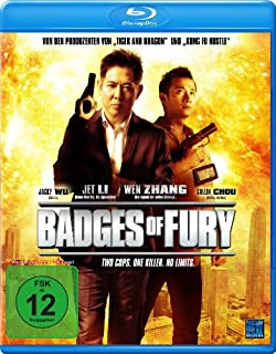 Badges of Fury - Two Cops - One Killer - No Limits [Blu-ray]