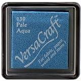 Versacraft-Almohadillas de tinta de pequeña almohadilla de tinta, Color Aqua