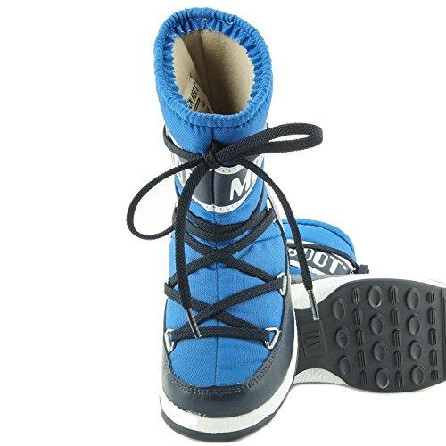 Moon Boot - W.E. Sport Mid Jr - , homme, bleu (azzurro/blue navy), taille bleu clair/navy