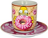 'Unitedlabels 0119568 The Simpsons – Tazza con piattino Donut