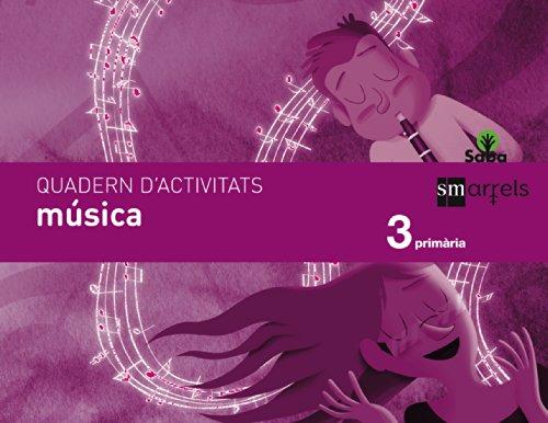 Portada del libro Quadern música. 3 Primària. Saba - 9788467571080