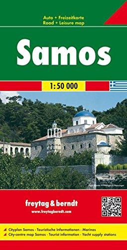 Carte routière : Samos