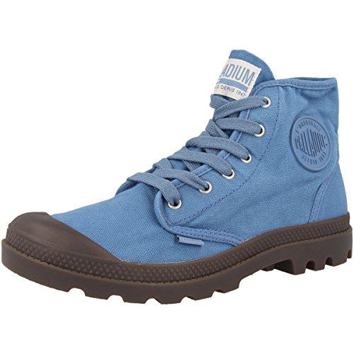 Mens Di Palladio Pampa Hi High Sneaker Capitani Blu-gomma Scura (02352-405)