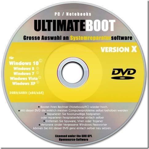 em Rescue, Computer reparieren, System wiederherstellen, Datenrettung, Rettungs-CD, Notfall-CD DVD,Windows wiederherstellen ()
