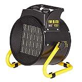 Portable High-Power-Lufterhitzer mit einstellbarer Dual-Purpose-Heizung zum Kühlen und Heizen, 2000~3000 Watt, Industrie-Garage Trockner Gebläse,