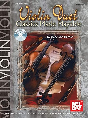 Violin Duet Classics Made Playable +CD