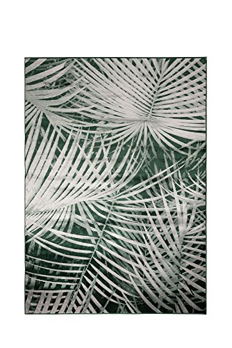 Teppich Retro Palm By Day Grün
