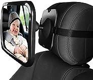 Baby Car Rear View Mirror Baby Car Backseat Mirror 360 Degree Adjustable Rear View Facing Back Seat Mirror