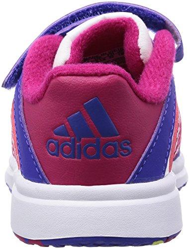 adidasSnice 4 - Bebè  Unisex - Bimbi 0-24 Bianco (Blanc (Ftwr White/Night Flash/Bold Pink))