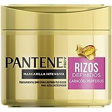 Pantene Rizos Definidos Mascarilla, Hidrata para Conseguir Unos Rizos Sedosos y Definidos- 300ml