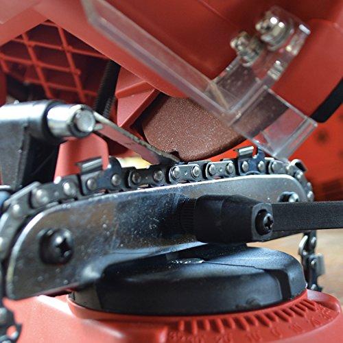 Faithfull Power Plus CHAINSSW Chainsaw Sharpener Grinding Wheel Test