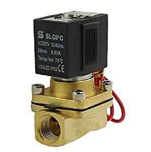 "Baomain 3/8 ""Diam. 2 Port 2 Position électrovanne 220V 50mA 8.6W"