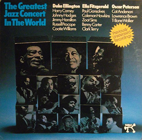 The Greatest Jazz Concert in the World [Vinyl Schallplatte] [4 LP Box-Set] (Vinyl-schallplatten-jazz)