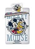 Disney Mickey Mouse 071 Bettwäsche Babybettwäsche 100 x 135 cm
