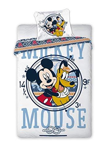 Disney Mickey Mouse 071 - Ropa de cama para bebé (100 x 135 cm)