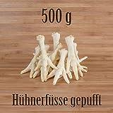 500g Hühnerfüße gepufft mit Honig - wie Schweinenase Honignase Kauartikel Kausnack