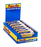 Powerbar Protein Plus Reduced in Carbs Riegel, Vanille, 1er Pack (1 x 30 Stück)
