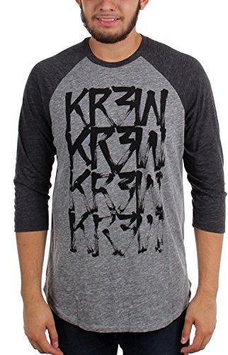 kr3w-pinceau-a-sec-raglan-pour-hommes-small-heather-grey