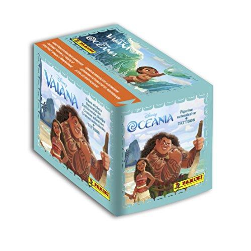 Panini - AS 2233-003 - Boîte DE 50 Pochettes de 5 Stickers - 250 Stickers - Vaiana