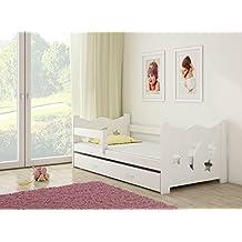 Kinderbett 90x200 weiß rausfallschutz  Suchergebnis auf Amazon.de für: tandembett weiß