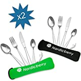 Nordicberry Premium Outdoor Reisebesteck