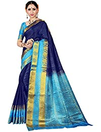 Stylla Mart Embose Silk Saree With Blouse Piece, Heavy Material Saree For Women-SMS1864