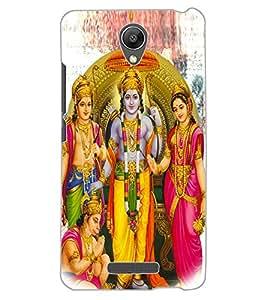 ColourCraft Lord Ram Laxaman Janaki and Hanuman Design Back Case Cover for XIAOMI REDMI NOTE 2 PRIME