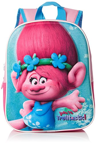 Preisvergleich Produktbild TROLLS Rucksack 3D Trolls pink