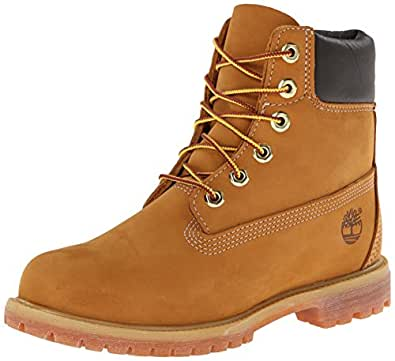 "Timberland 6"" Premium Boot - W, Chaussures montantes femme, Ble (Wheat Nubuck), 39.5 EU"