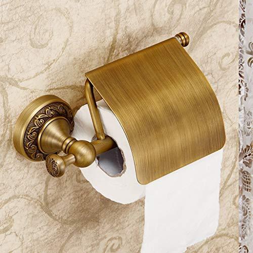 BAIF Retro Kreative Rollenpapierhalter Badezimmer Messing Wand Papierhandtuchhalter Toilettenpapierständer