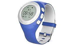 WATCHU - Telefono e Orologio GPS per bambini con pulsante SOS