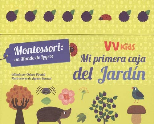 MI PRIMERA CAJA DEL JARDIN (VVKIDS) (Vvkids Montesori)
